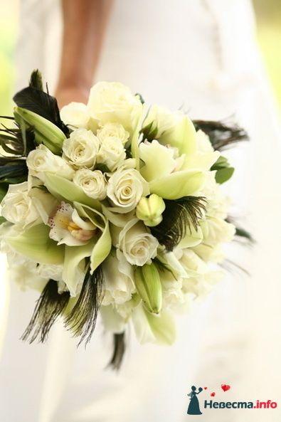 Фото 90165 в коллекции Букет невесты, подружек, и бутоньерка жениха! - Невеста Настенька