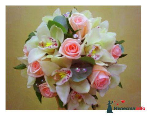 Фото 90174 в коллекции Букет невесты, подружек, и бутоньерка жениха! - Невеста Настенька