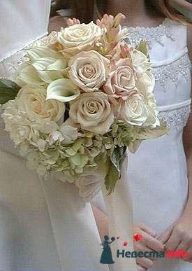 Фото 90194 в коллекции Букет невесты, подружек, и бутоньерка жениха! - Невеста Настенька