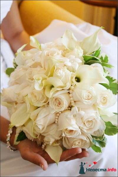 Фото 90195 в коллекции Букет невесты, подружек, и бутоньерка жениха! - Невеста Настенька