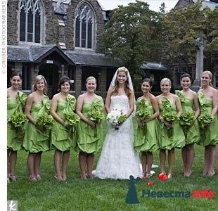 Фото 103264 в коллекции Зеленая свадьба - Невеста Настенька