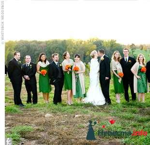 Фото 103296 в коллекции Зеленая свадьба - Невеста Настенька