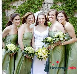 Фото 103298 в коллекции Зеленая свадьба - Невеста Настенька
