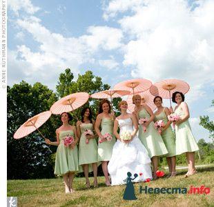 Фото 103310 в коллекции Зеленая свадьба - Невеста Настенька