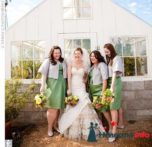 Фото 103320 в коллекции Зеленая свадьба - Невеста Настенька
