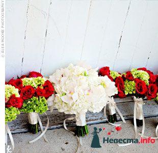 Фото 103364 в коллекции Красная свадьба! - Невеста Настенька
