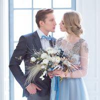 свадьба в студии, свадебное фото, европейская свадьба