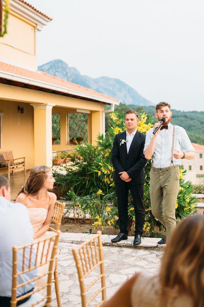 Частичная организация свадьбы в Черногории - октябрь