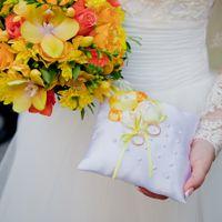 Подушечки для колец с объёмной вышивкой