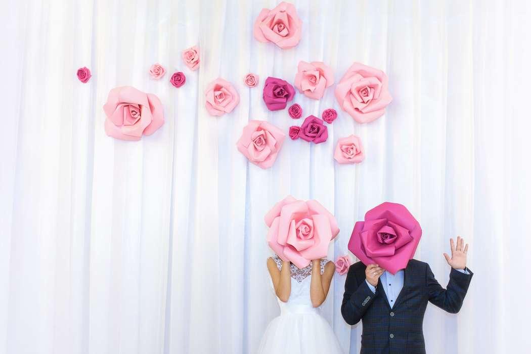 Как сделать большие цветы на свадьбу своими руками 66