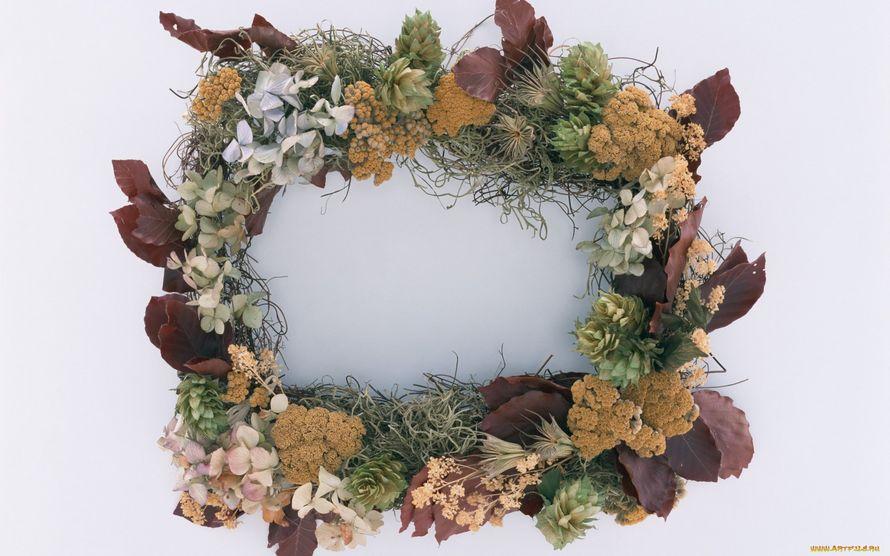 Рамка для из живых цветов