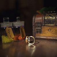 Кольца: серебро + 2 вида дерева!