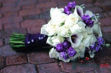 Фото 72079 в коллекции PURPLE Flowers For Bride - Brittany