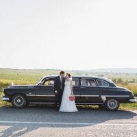 """Правительственный ретро лимузин """"ЗИМ"""" на свадьбу в Севастополе.Свадебные машины Севастополя."""
