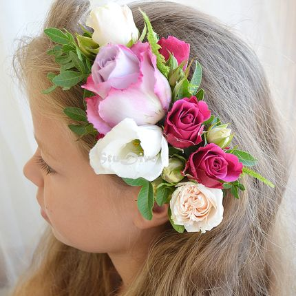 Венок Live flowers