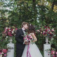 выездная регистрация, церемония, флористика, цветочные композиции