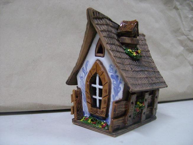 Глиняные домики своими руками 29