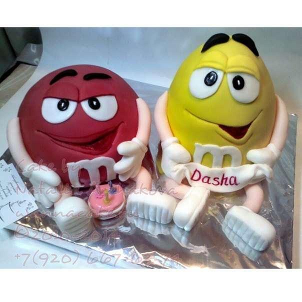 """Торт """"Красный и Желтый"""" - фото 3623493 Свадебные торты от Наталии Аржаковой"""