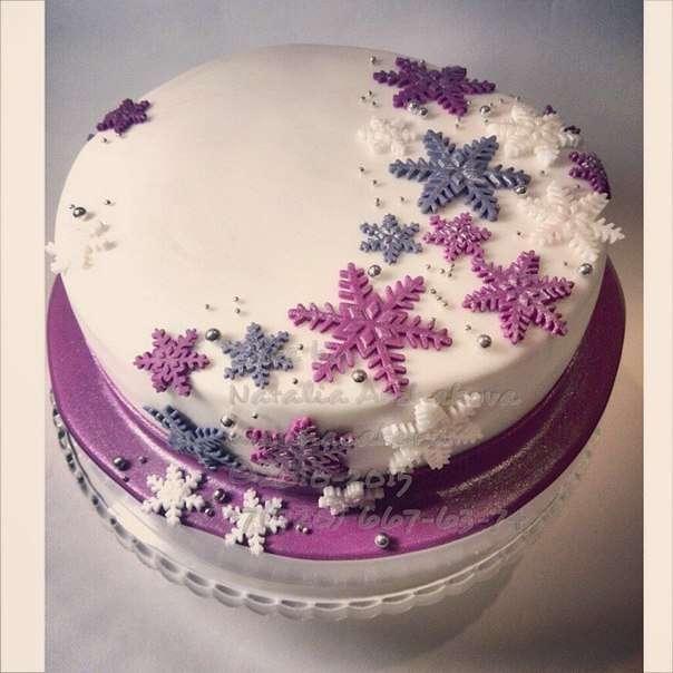 Новогодняя тематика в тортах - фото 3623511 Свадебные торты от Наталии Аржаковой