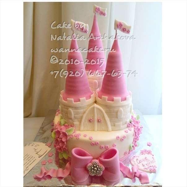 Просто замок. - фото 4717005 Свадебные торты от Наталии Аржаковой