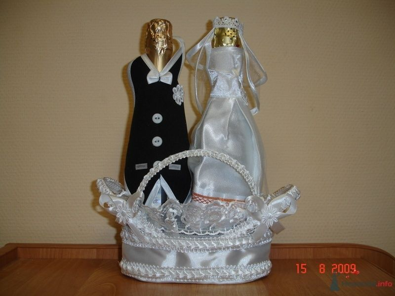 Украшения на шампанское - фото 67711 Shop-tranzit - свадебные аксессуары