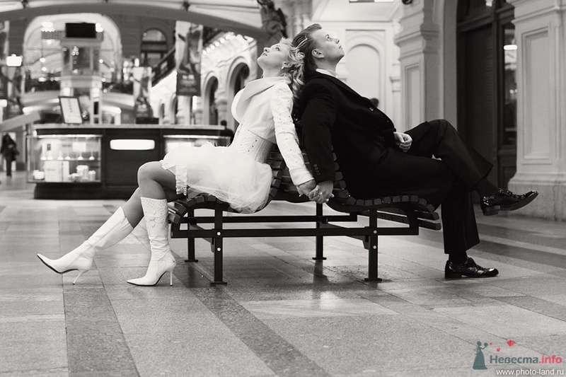 Елена и Александр (ГУМ, Москва) - фото 70718 Свадебные фотоистории от Андрея Егорова