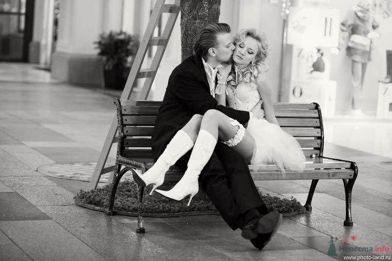 Елена и Александр (ГУМ, Москва) - фото 70719 Свадебные фотоистории от Андрея Егорова