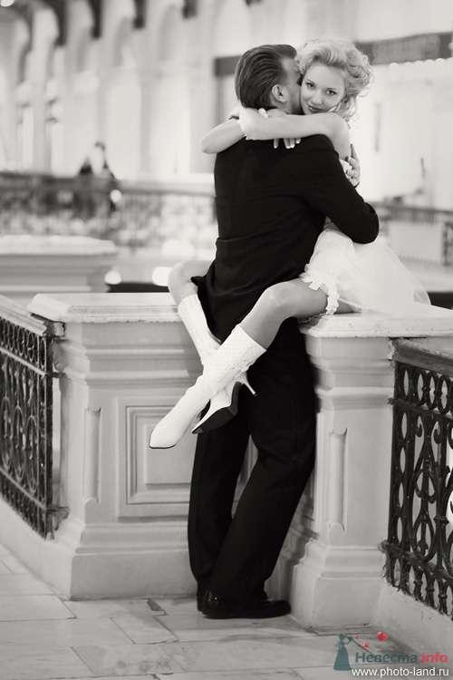 Елена и Александр (ГУМ, Москва) - фото 70726 Свадебные фотоистории от Андрея Егорова