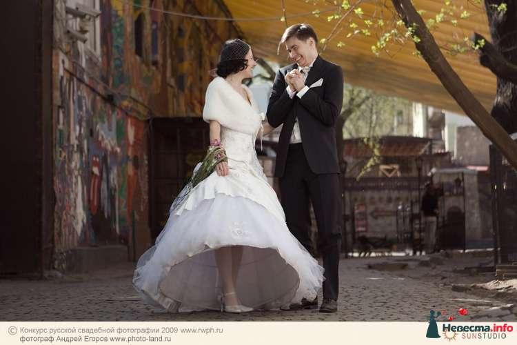 Свадебная прогулка по улочкам Москвы - фото 91235 Свадебные фотоистории от Андрея Егорова
