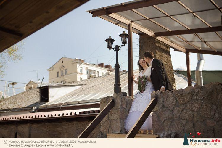 Свадебная прогулка по улочкам Москвы