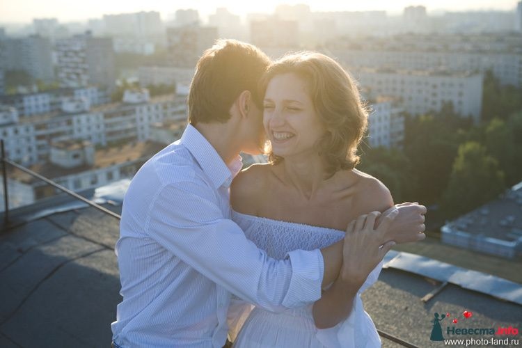 Love Story на крыше - фото 94836 Свадебные фотоистории от Андрея Егорова
