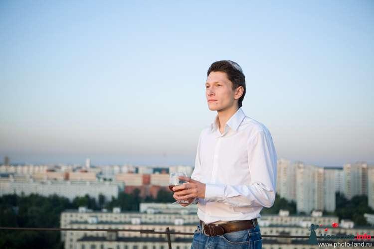 Love Story на крыше - фото 94840 Свадебные фотоистории от Андрея Егорова