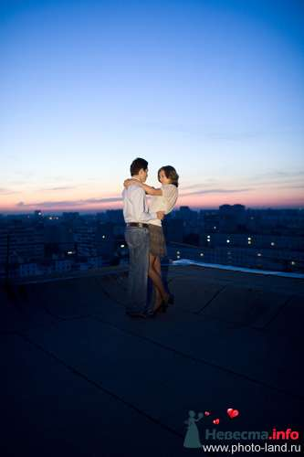 Love Story на крыше - фото 94853 Свадебные фотоистории от Андрея Егорова
