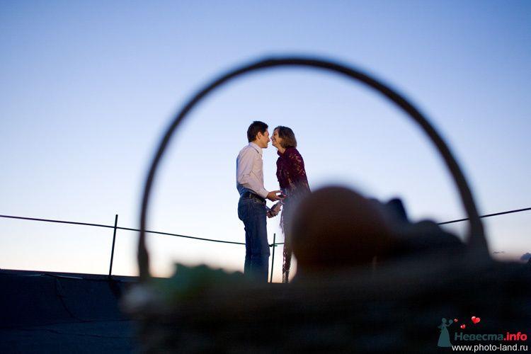 Love Story на крыше - фото 94884 Свадебные фотоистории от Андрея Егорова