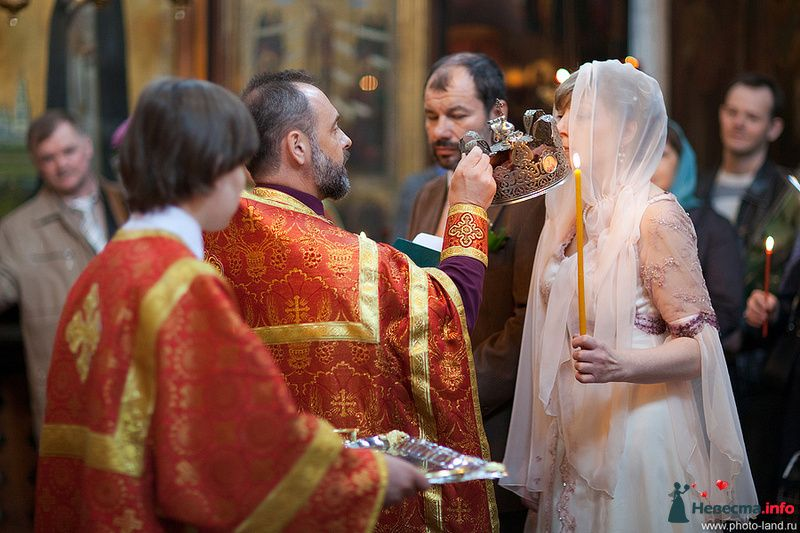 Венчание. Москва  - фото 96439 Свадебные фотоистории от Андрея Егорова