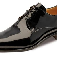 Лаковые туфли под смокинг