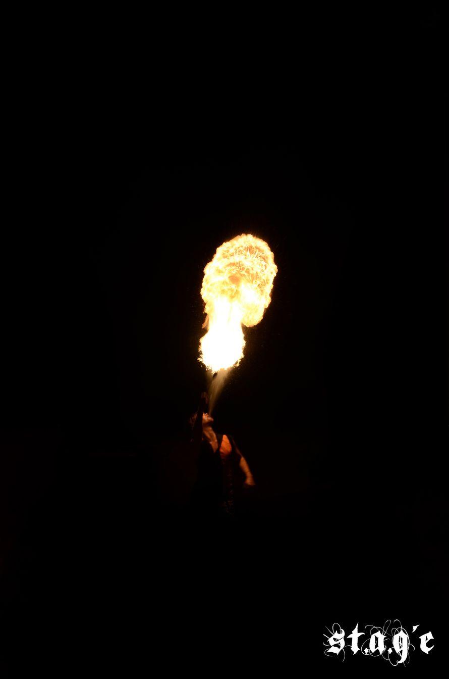 Фото 623328 в коллекции Мои фотографии - Огненно-пиротехническое и световое шоу St.A.G'e