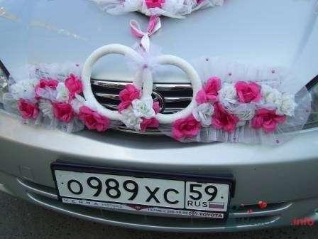 """Фото 72257 в коллекции оформление свадебных автомобилей - """"Дом праздника"""" - свадебное оформление"""