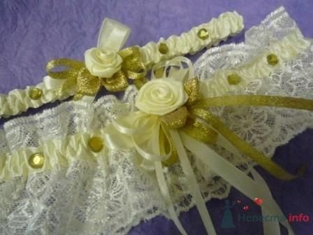 """Фото 72287 в коллекции подвязки - """"Дом праздника"""" - свадебное оформление"""
