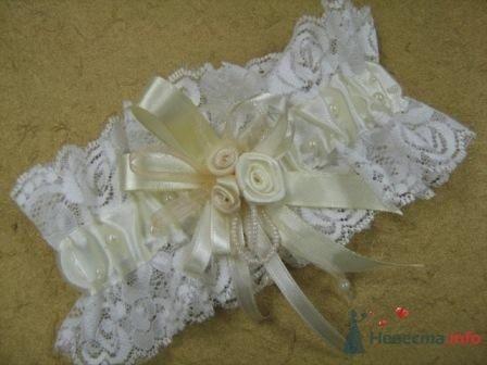 """Фото 72288 в коллекции подвязки - """"Дом праздника"""" - свадебное оформление"""