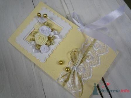 Фото 72311 в коллекции свадебные приглашения и конверты ручной работы
