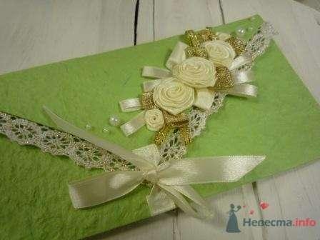"""Фото 72319 в коллекции свадебные приглашения и конверты ручной работы - """"Дом праздника"""" - свадебное оформление"""