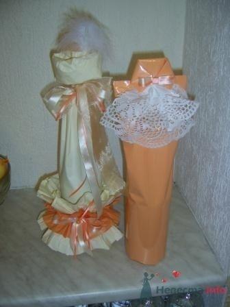 """Фото 72625 в коллекции свадебные бокалы и шампанское - """"Дом праздника"""" - свадебное оформление"""