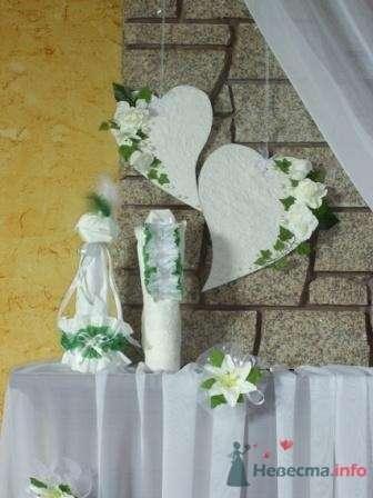 """Фото 72637 в коллекции оформление свадебных залов - """"Дом праздника"""" - свадебное оформление"""