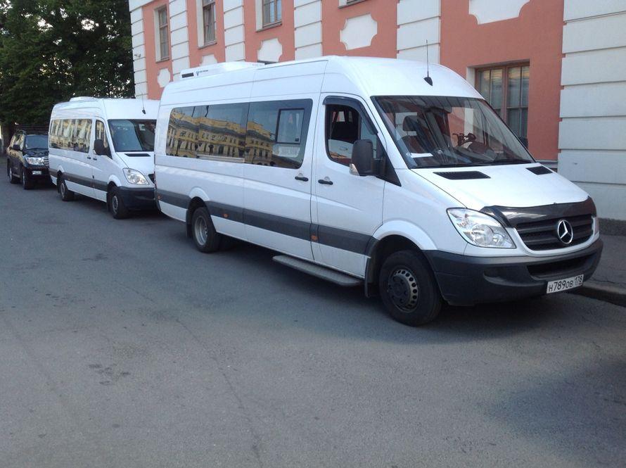 """Фото 1841707 в коллекции Мои фотографии - """"Mercedes"""" - аренда микроавтобуса на свадьбу"""