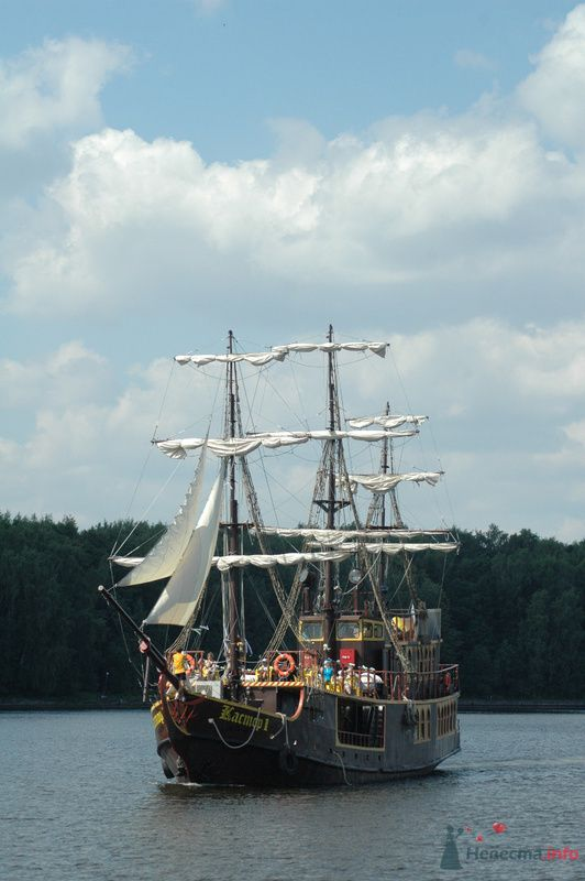 """Фрегат """"Кастор-1"""" - фото 74084 СК """"Виктория"""" - свадьба на яхте,парусном фрегате"""