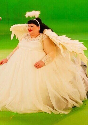 """Со съемки клипа Скибиди - фото 18977460 Шоу толстушек """"Красотки Рубенса"""""""