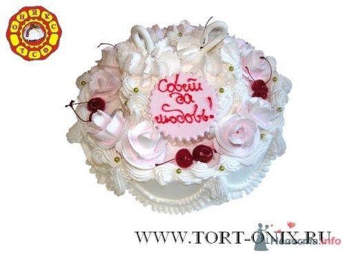"""Свадебный торт - фото 4292 Кондитерская компания """"ТСФ Оникс"""""""