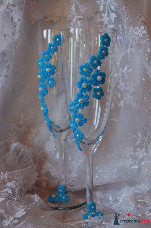 Фото 99876 в коллекции свадебные бокалы!!!!! - Невеста01