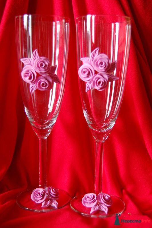 Фото 99878 в коллекции свадебные бокалы!!!!! - Невеста01